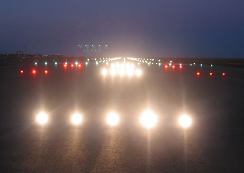 Runway 16L High Intensity Approach Lighting System